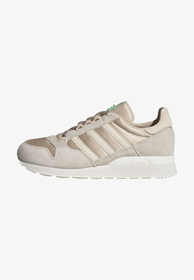 Sneakers laag - halo ivory linen chalk white