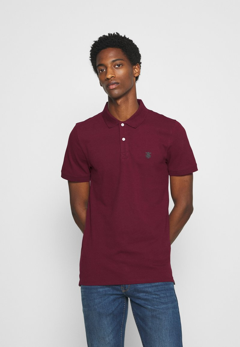 Selected Homme - SLHARO EMBROIDERY - Polo shirt - port royale