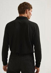 Massimo Dutti - Polo shirt - black - 1