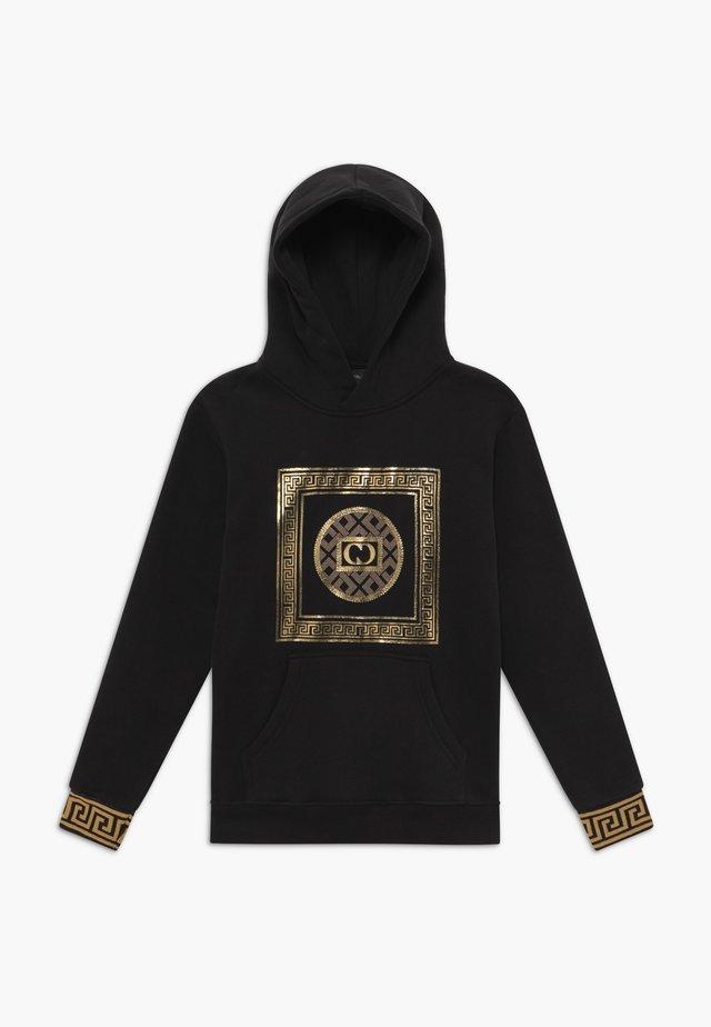 MILANO HOOD - Hoodie - black/gold