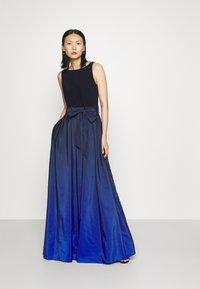 Lauren Ralph Lauren - AGNI SLEEVELESS EVENING DRESS - Žerzejové šaty - sapphire star - 1