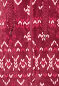 Hunkemöller - ONESIE FAIRISLE - Pyjamas - rumba red - 2