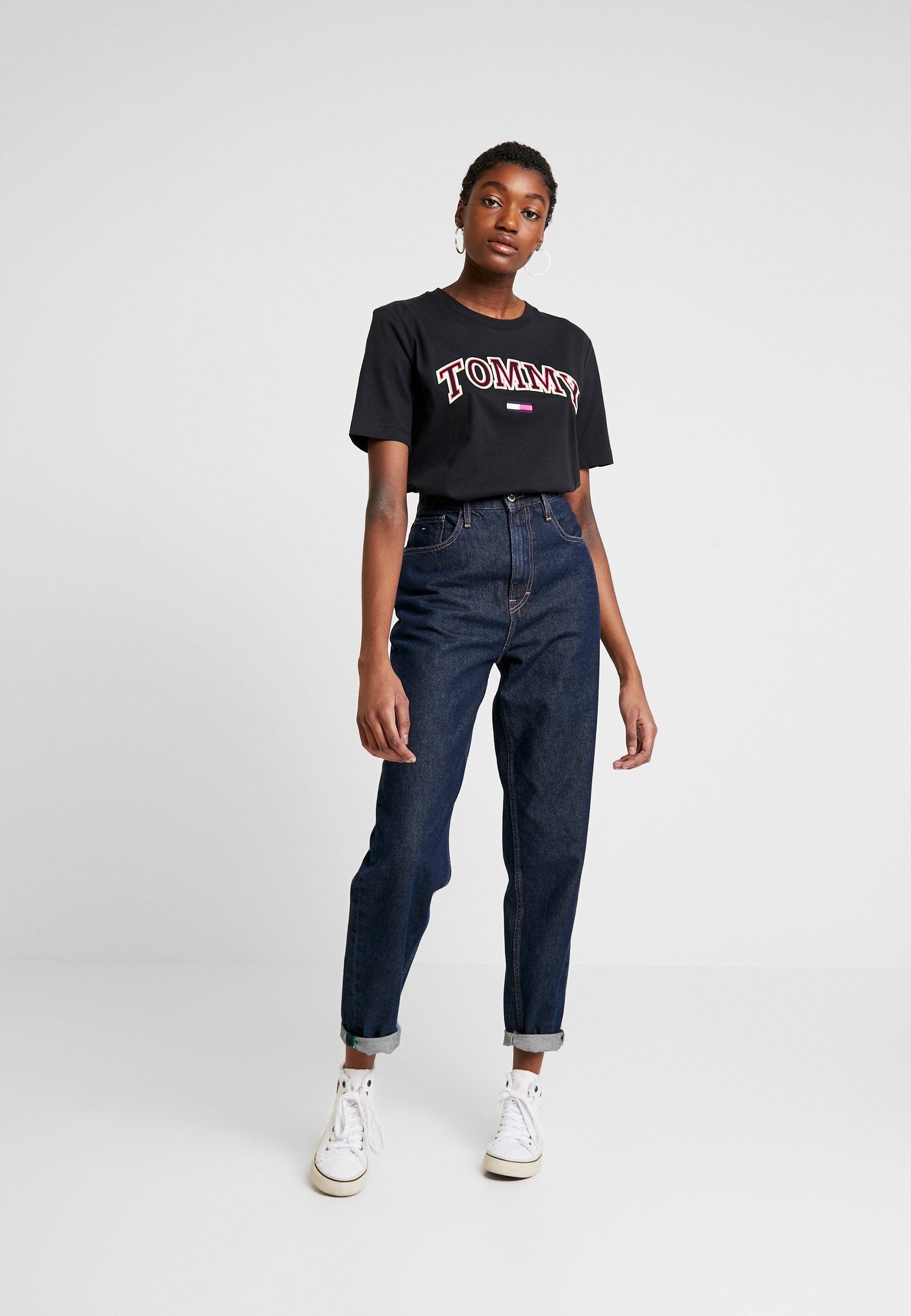 Women NEON COLLEGIATE TEE - Print T-shirt
