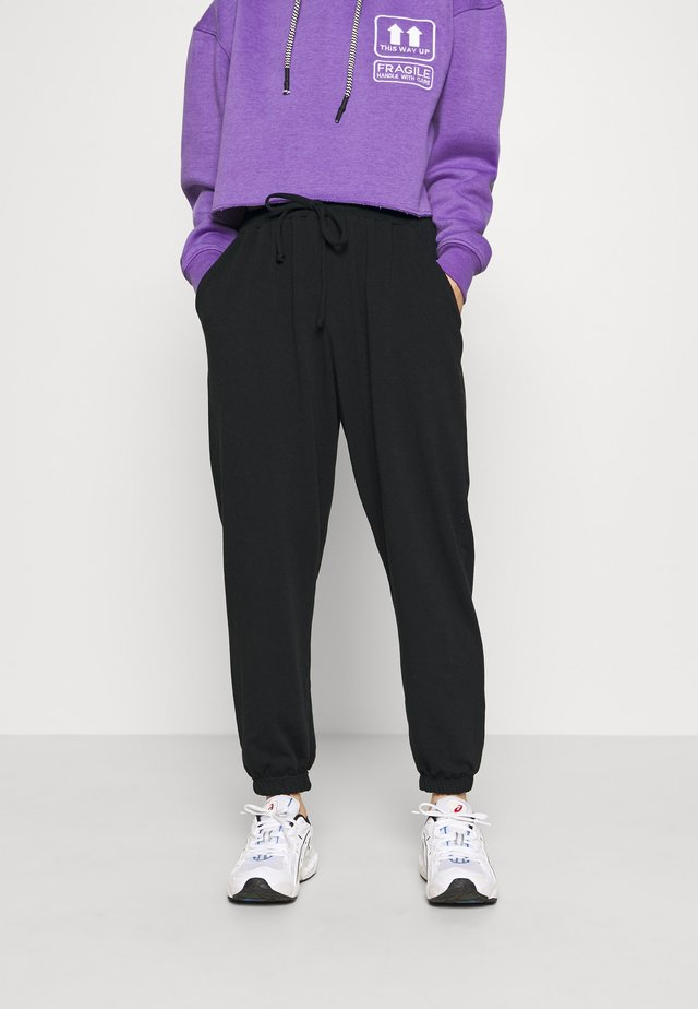 90S JOGGERS - Pantalones deportivos - black