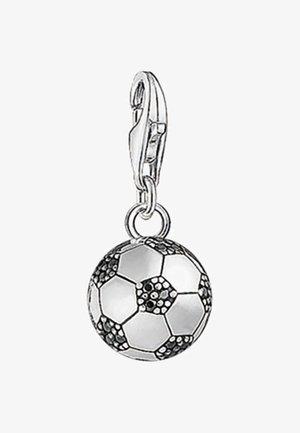 FUSSBALL  - Pendant - silver/black