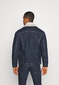 Lee - SHERPA  - Jas - dark blue denim - 2