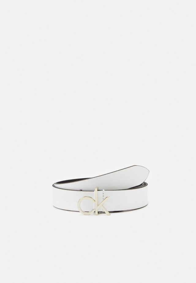 LOGO BELT - Cintura - white