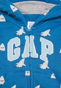 GAP - LOGO - Mikina na zip - breezy blue - 2
