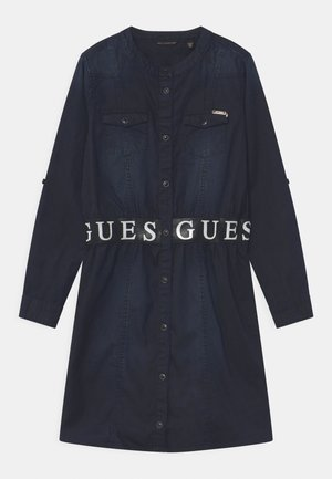 JUNIOR  - Denim dress - black denim