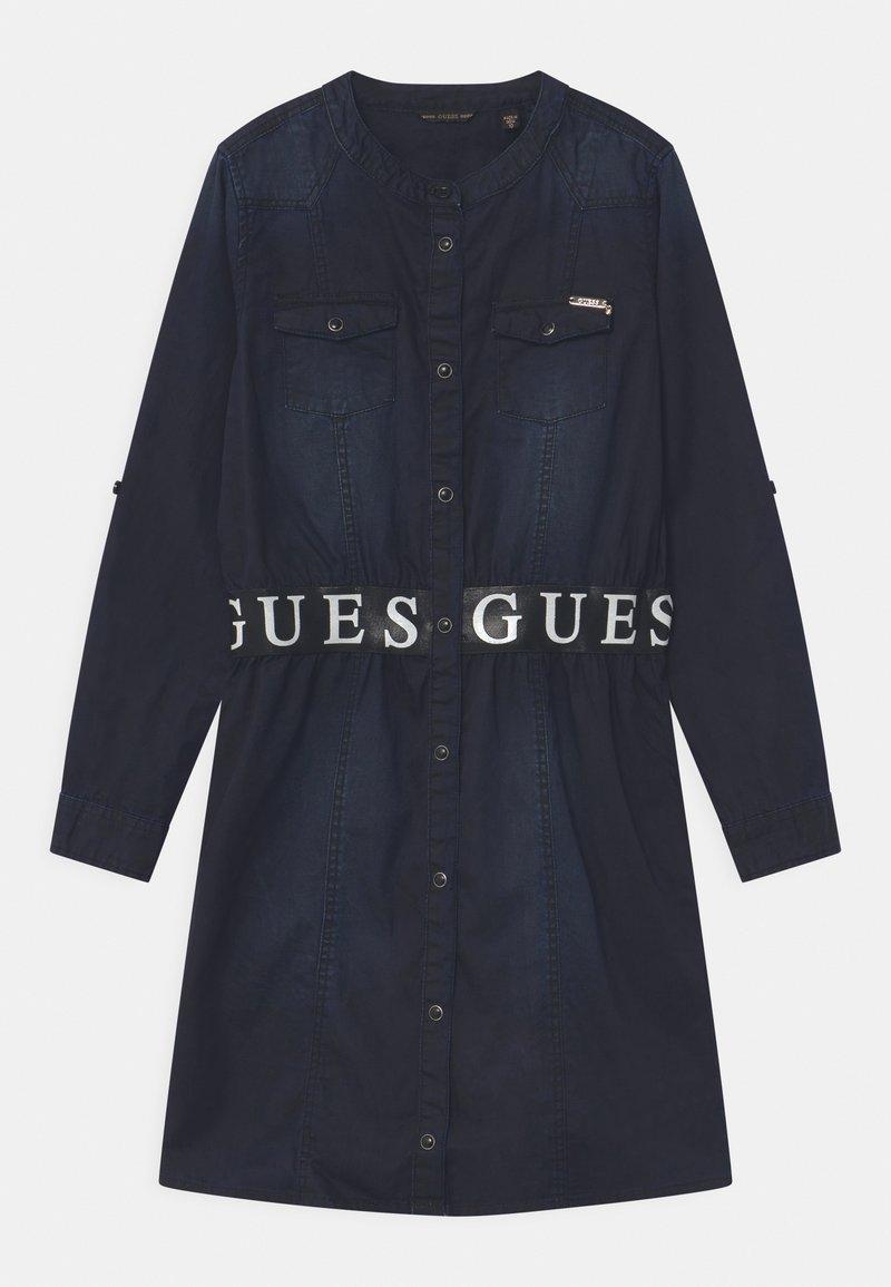 Guess - JUNIOR  - Denim dress - black denim