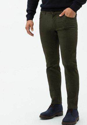 CHUCK - Trousers - moss
