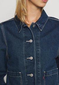 Levi's® - UTILITY CHORECOAT - Giacca di jeans - lead balloon - 5