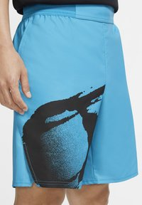 Nike Performance - SLAM - Sports shorts - neo teal/black/black - 4
