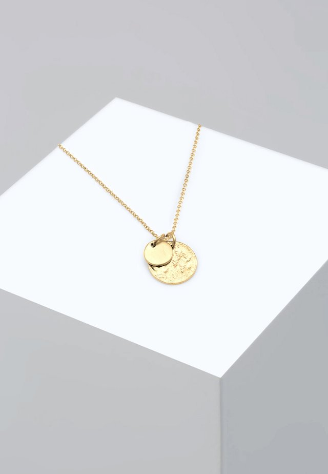 PLÄTTCHEN GEO - Necklace - gold-coloured