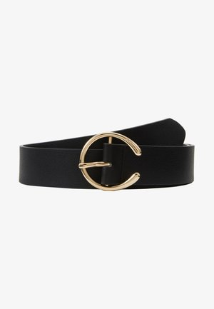 PCOFELIA JEANS BELT - Skärp - black/gold