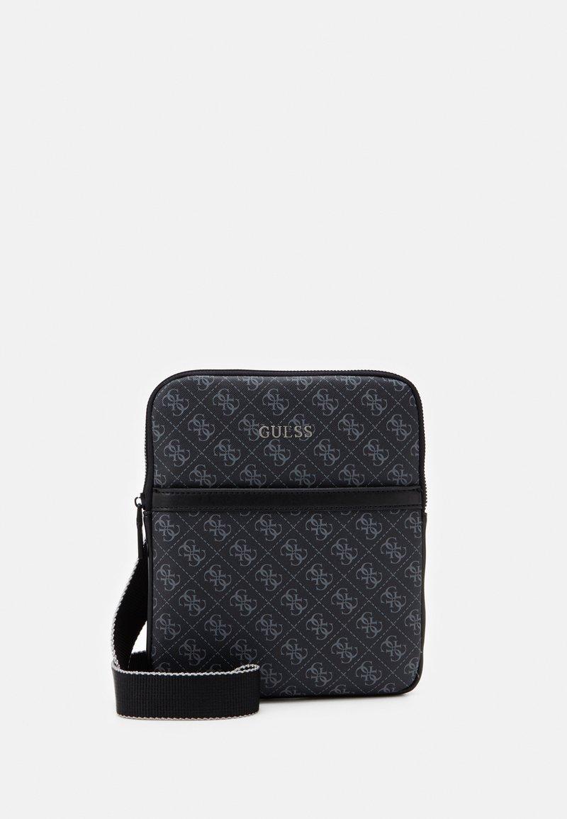 Guess - VEZZOLA MINI FLAT - Across body bag - black