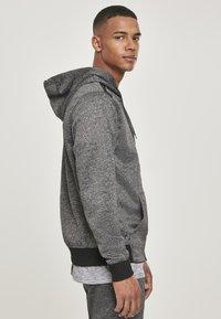 Southpole - HERREN MARLED TECH FLEECE FULL ZIP HOODY - Zip-up hoodie - marled grey - 3