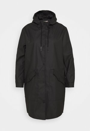 CARNEWSTATION RAINCOAT - Klassinen takki - black