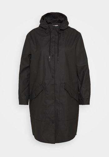 CARNEWSTATION RAINCOAT - Classic coat - black