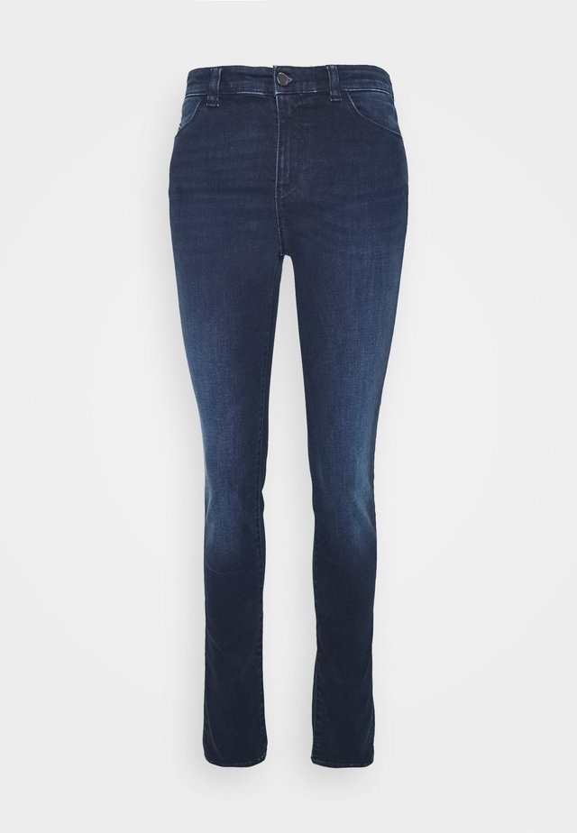 POCKETS PANT - Jeansy Skinny Fit - denim blu