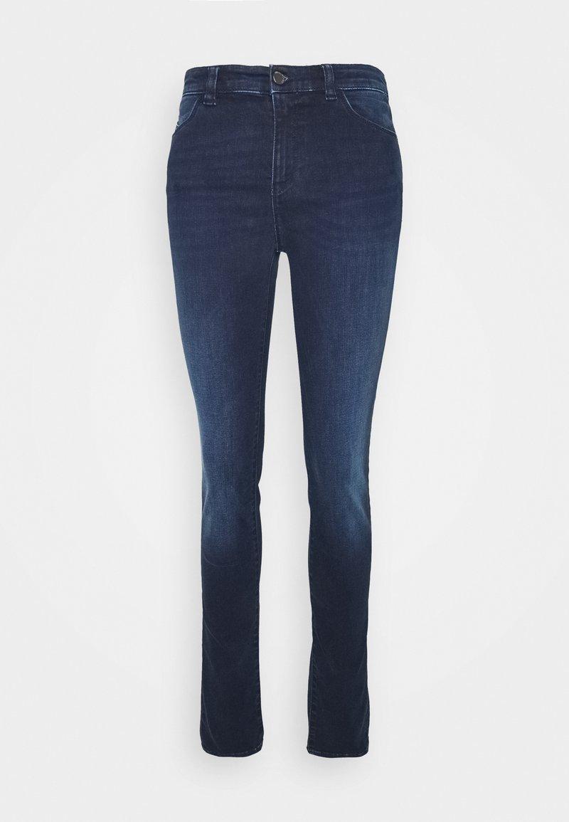 Emporio Armani - POCKETS PANT - Jeans Skinny Fit - denim blu