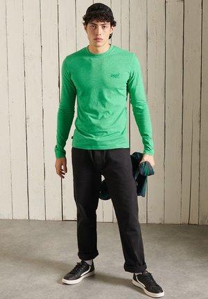 Långärmad tröja - bright green grit