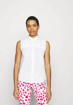 SLFKELLY SHIRT - Button-down blouse - bright white