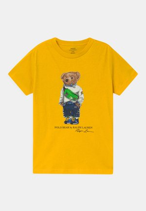 Print T-shirt - slicker yellow