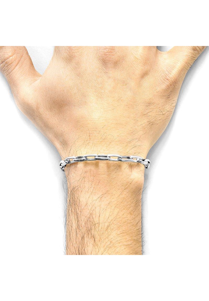 Anchor & Crew - SPIRITSAIL  - Armband - silver