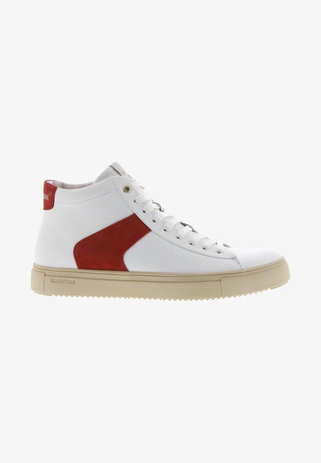 Höga sneakers - white