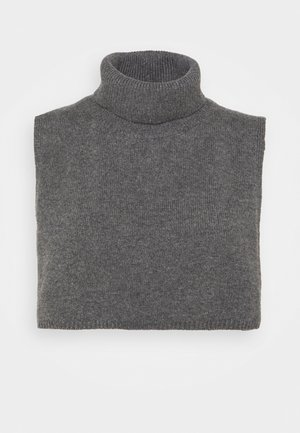 Poncho - Cape - grey dusty