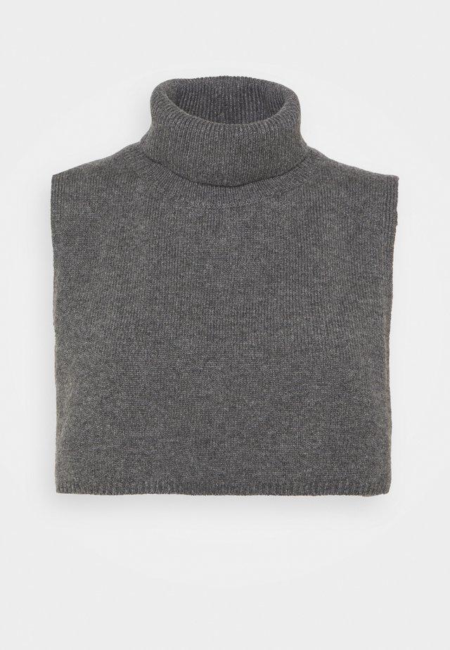 Poncho - Cape - grey dusty