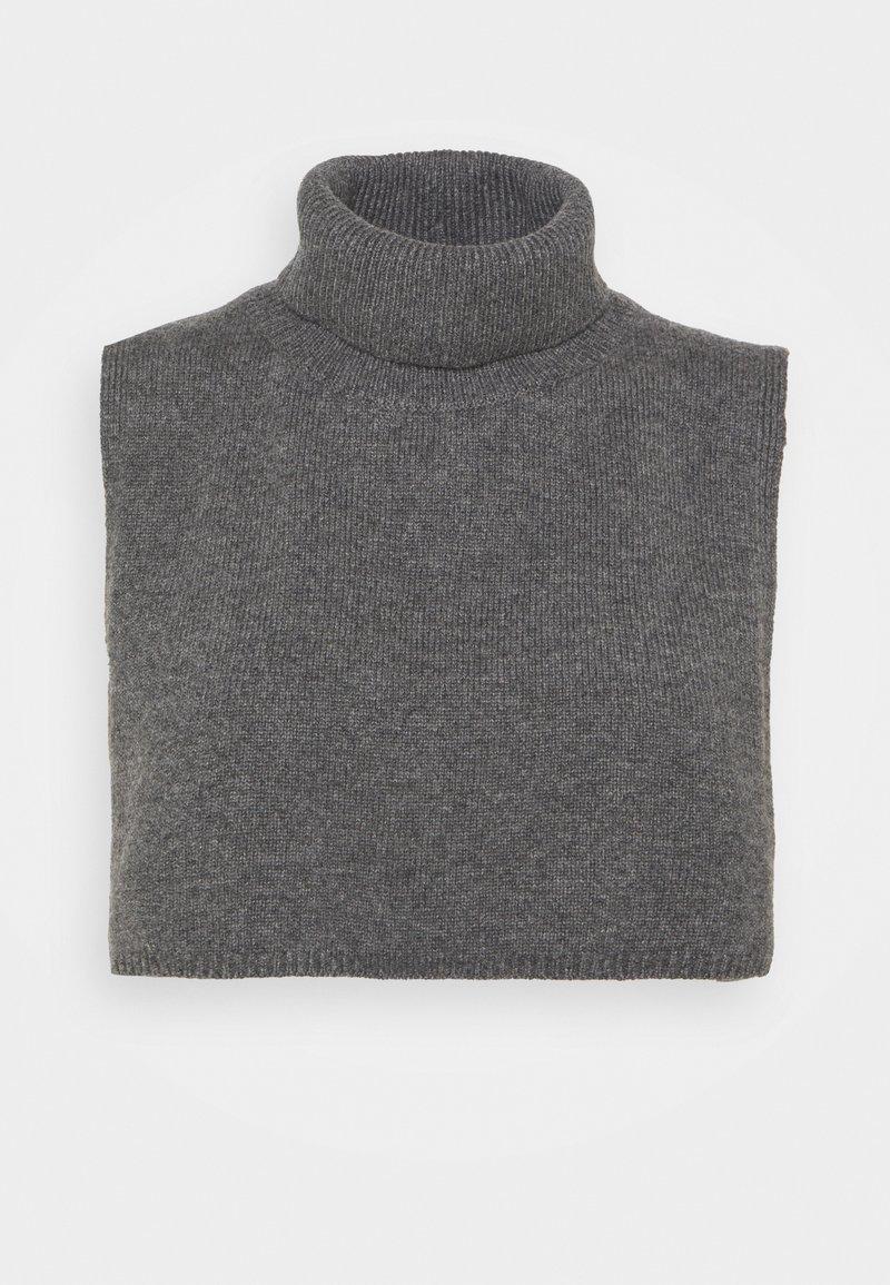ARKET - Poncho - Cape - grey dusty