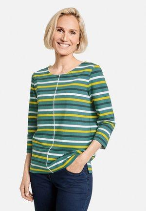 Long sleeved top - grün ringel