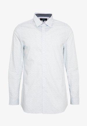 BLACKBURN TONAL DITSY LEAF - Shirt - mid blue