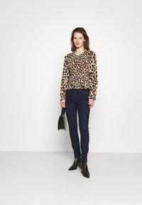 Marks & Spencer London - SLIM - Džíny Slim Fit - dark blue - 1