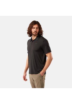 Polo shirt - black pepper stripe