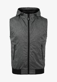 NELO - Waistcoat - black