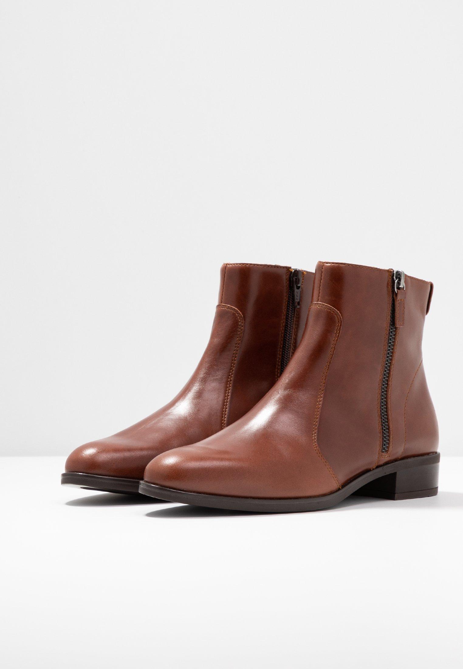 Unisa BRAS Ankle Boot moka/braun