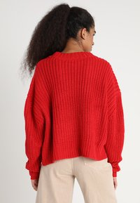 Urban Classics - LADIES WIDE OVERSIZE  - Jumper - firered - 2