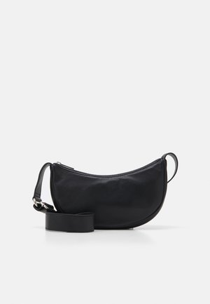 SOFTY MINI MOON BAG - Across body bag - black