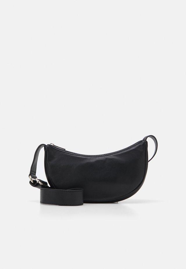 SOFTY MINI MOON BAG - Sac bandoulière - black