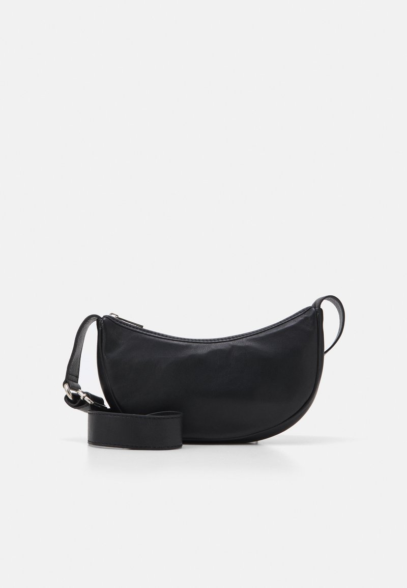 Becksöndergaard - SOFTY MINI MOON BAG - Across body bag - black