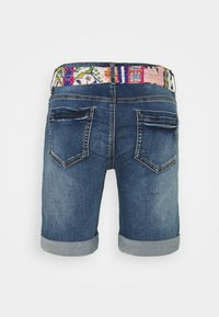 Desigual - FOULARD SHORT - Short en jean - blue - 1