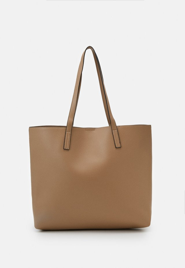 Bolso shopping - taupe