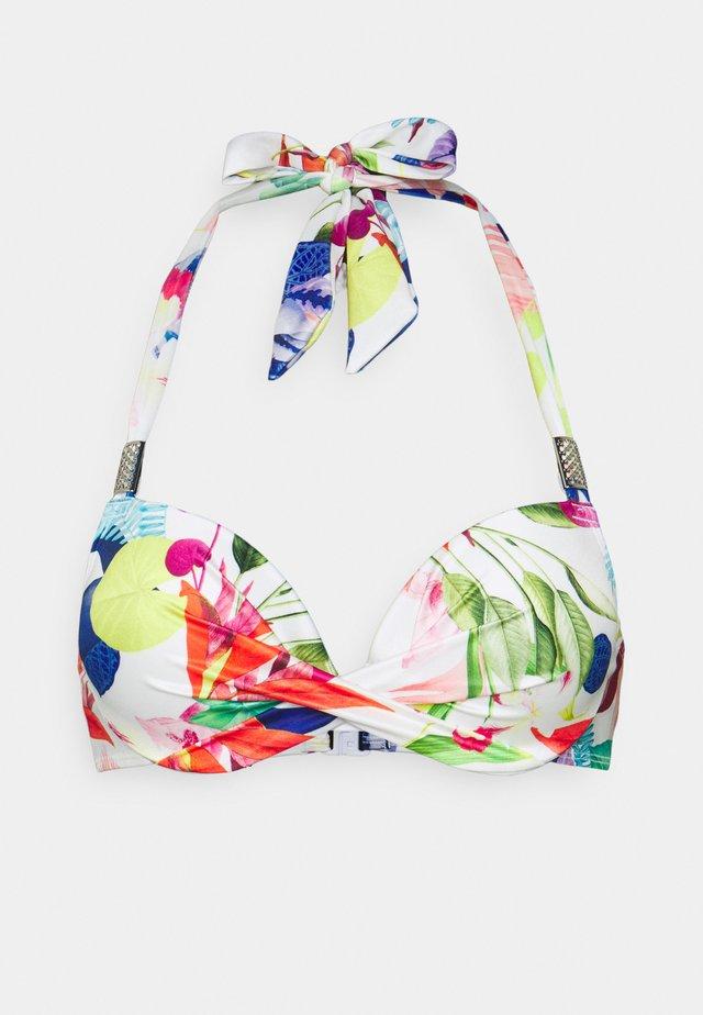 PALMA - Bikini top - white