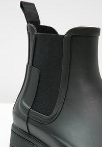 Hunter ORIGINAL - MENS ORIGINAL REFINED CHELSEA - Botas de agua - black - 5