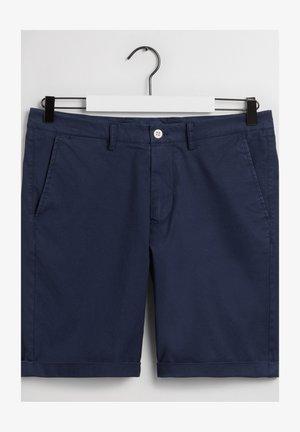 REGULAR FIT - Shorts - marine