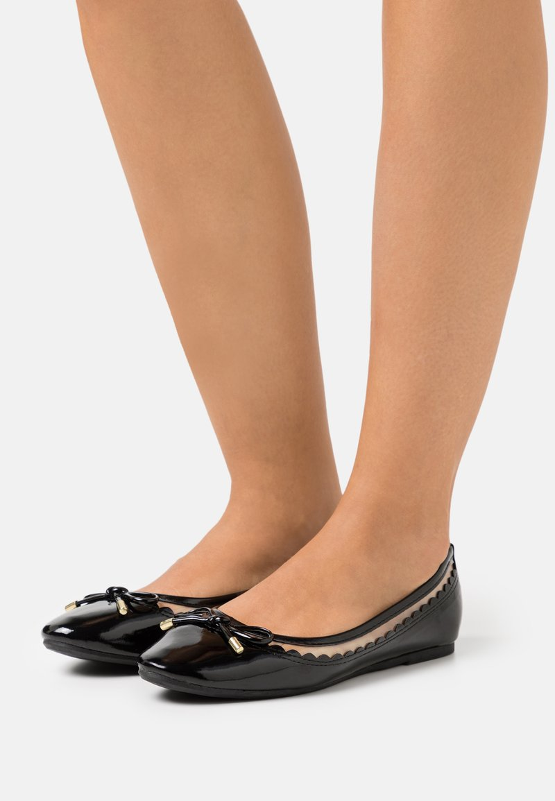 Dorothy Perkins - PIPPA SCALLOP  - Ballerina - black