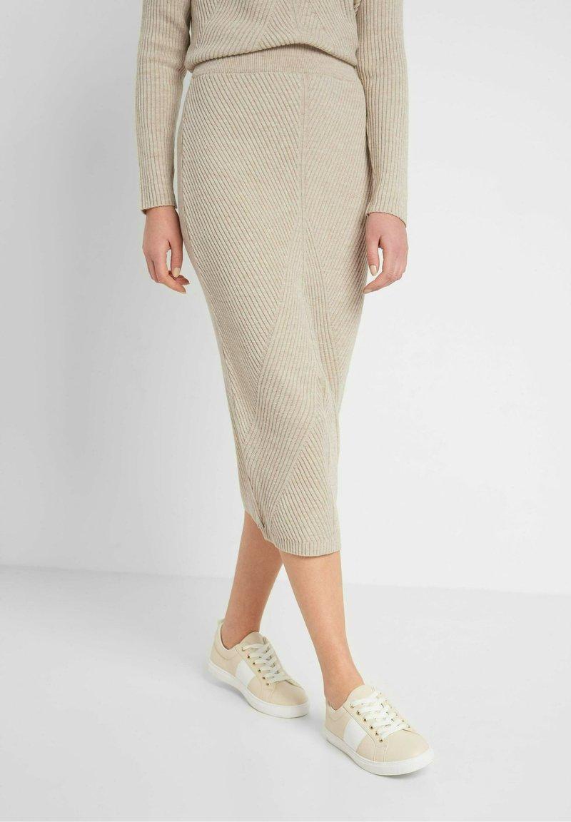 ORSAY - Pencil skirt - zementgrau